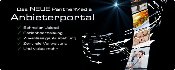 Das neue PantherMedia Anbieterportal